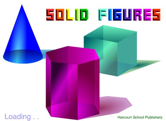 Solid Figures - Harcourt Brace