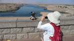 Monty and Mayling at the Aswan High Dam