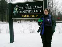 Highlight for album: Monty at the Cornell Lab of Ornithology