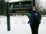 Aunt Polly and Monty visit the Cornell Lab of Ornithology