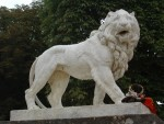 G - Paris: (Luxembourg Gardens) I seem to really get along with all the lions I meet!